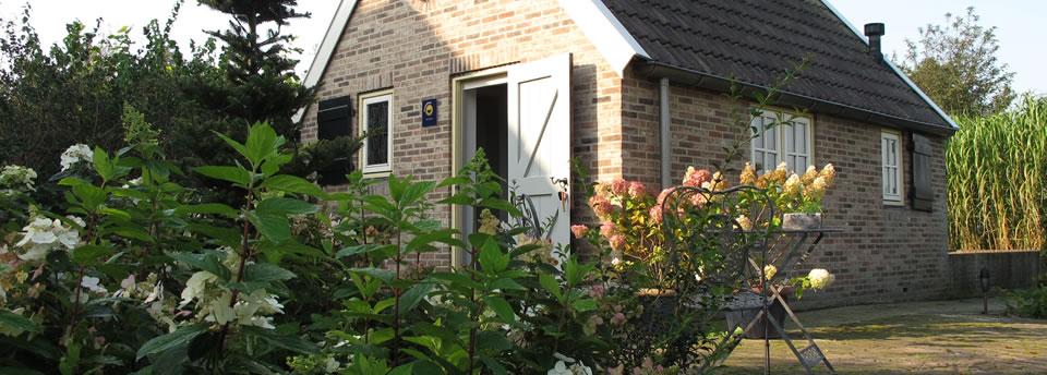 Romantisch vakantiehuisje Drenthe